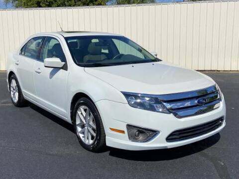 2012 Ford Fusion for sale at Miller Auto Sales in Saint Louis MI