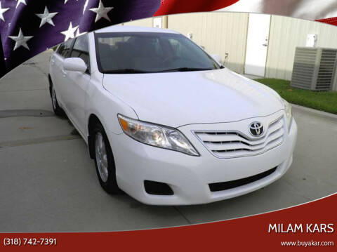2010 Toyota Camry for sale at MILAM KARS in Bossier City LA