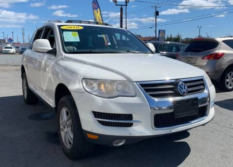2010 Volkswagen Touareg for sale at Clear Auto Sales 2 in Dartmouth MA