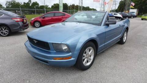 2007 Ford Mustang for sale at Das Autohaus Quality Used Cars in Clearwater FL