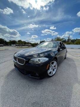 2012 BMW 5 Series for sale at Easy Finance Motors in West Park FL
