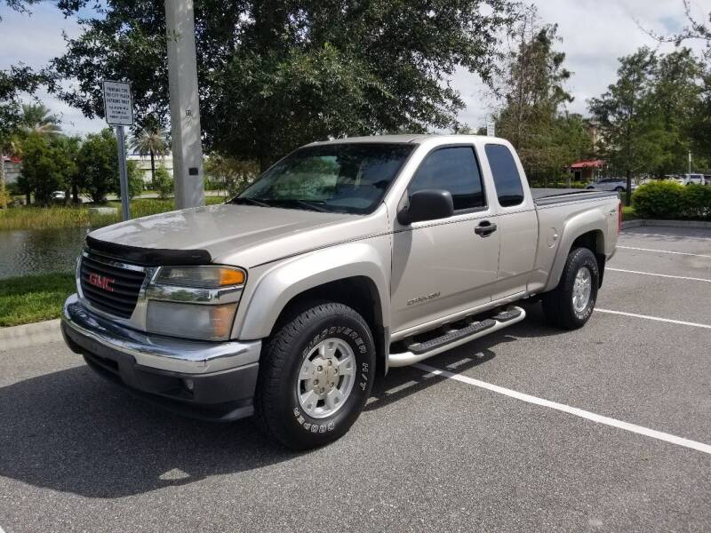 2004 GMC Canyon for sale at Street Auto Sales in Clearwater FL