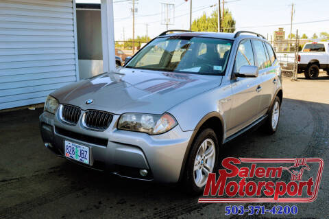 2006 BMW X3 for sale at Salem Motorsports in Salem OR