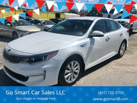 2017 Kia Optima for sale at Go Smart Car Sales LLC in Winter Garden FL