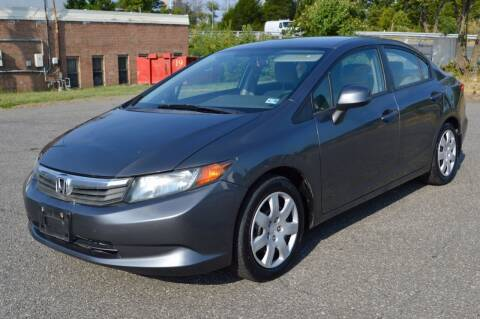 2012 Honda Civic for sale at Mid Atlantic Truck Center in Alexandria VA
