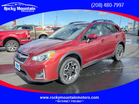 2016 Subaru Crosstrek for sale at Rocky Mountain Motors in Idaho Falls ID