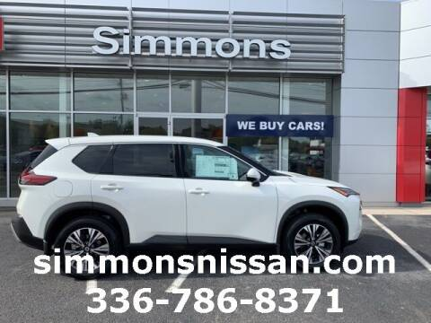 2021 Nissan Rogue for sale at SIMMONS NISSAN INC in Mount Airy NC