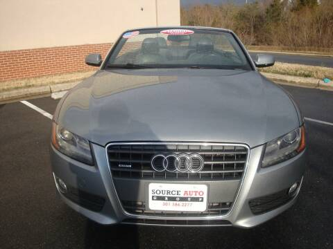 2010 Audi A5 for sale at Source Auto Group in Lanham MD