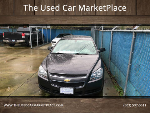 2011 Chevrolet Malibu for sale at The Used Car MarketPlace in Newberg OR