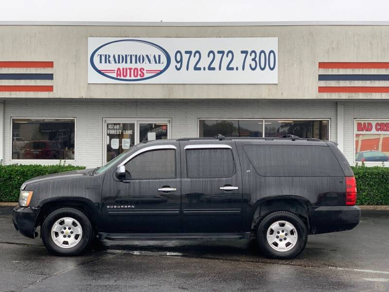 2010 Chevrolet Suburban for sale at Traditional Autos in Dallas TX