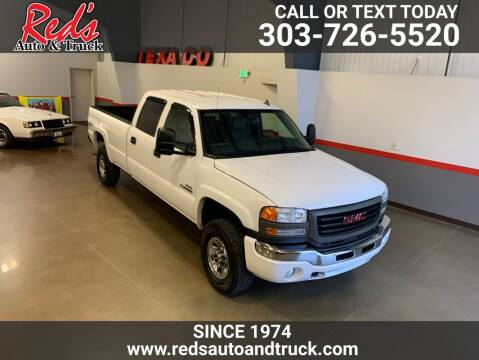 2006 GMC Sierra 3500 for sale at Red's Auto and Truck in Longmont CO