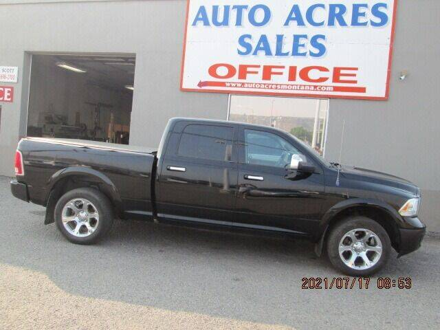 2013 RAM Ram Pickup 1500 for sale at Auto Acres in Billings MT