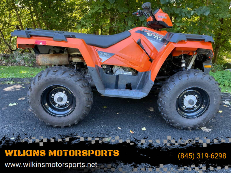 2016 Polaris Sportsman570 for sale at WILKINS MOTORSPORTS in Brewster NY