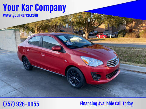 2019 Mitsubishi Mirage G4 for sale at Your Kar Company in Norfolk VA