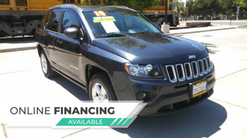 2014 Jeep Compass for sale at Super Cars Sales Inc #1 in Oakdale CA