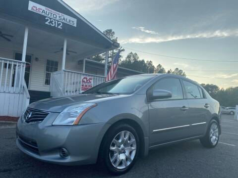 2010 Nissan Sentra for sale at CVC AUTO SALES in Durham NC