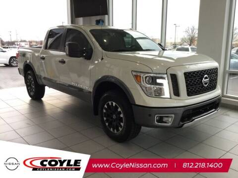 2018 Nissan Titan for sale at COYLE GM - COYLE NISSAN - Coyle Nissan in Clarksville IN