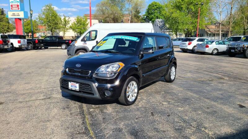 2012 Kia Soul for sale at Bibian Brothers Auto Sales & Service in Joliet IL