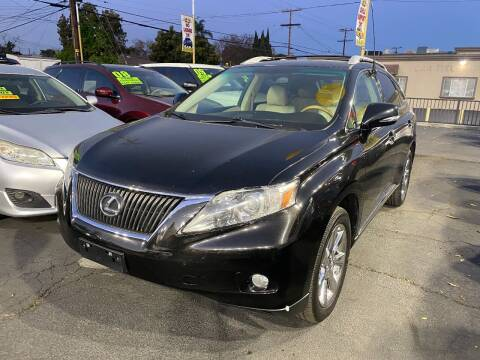 2011 Lexus RX 350 for sale at Crown Auto Inc in South Gate CA