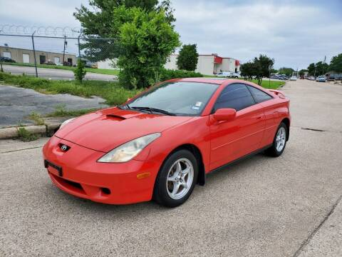 2001 Toyota Celica for sale at DFW Autohaus in Dallas TX