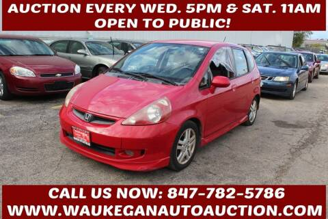 2007 Honda Fit for sale at Waukegan Auto Auction in Waukegan IL