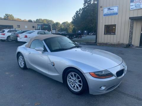 2004 BMW Z4 for sale at EMH Imports LLC in Monroe NC