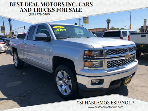 2015 Chevrolet Silverado 1500 for sale at BEST DEAL MOTORS  INC. CARS AND TRUCKS FOR SALE in Sun Valley CA