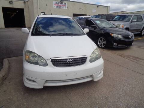 2006 Toyota Corolla for sale at ACH AutoHaus in Dallas TX