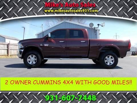 2012 RAM Ram Pickup 2500 for sale at Mike's Auto Sales in Shelbyville TN