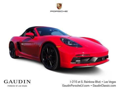 2021 Porsche 718 Boxster for sale at Gaudin Porsche in Las Vegas NV