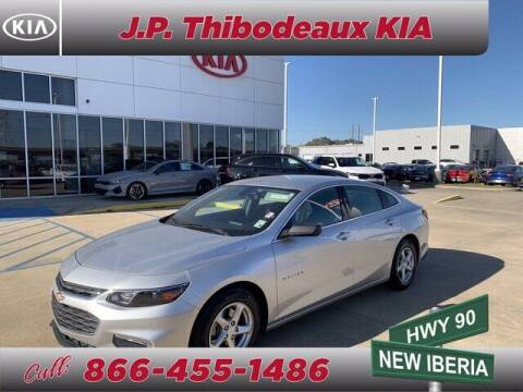 2016 Chevrolet Malibu for sale at J P Thibodeaux Used Cars in New Iberia LA