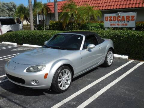 2006 Mazda MX-5 Miata for sale at Uzdcarz Inc. in Pompano Beach FL