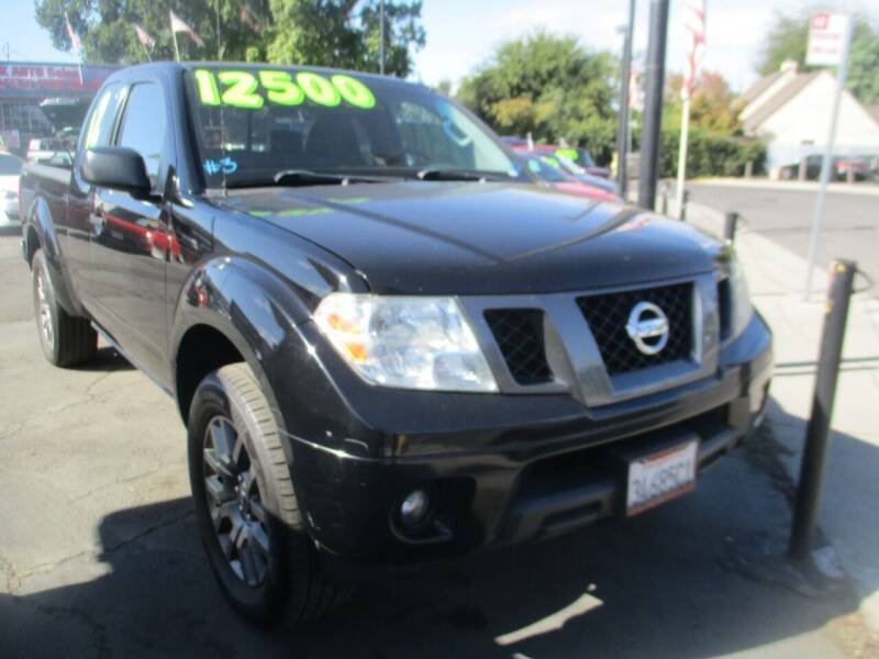 2012 Nissan Frontier for sale at Quick Auto Sales in Modesto CA