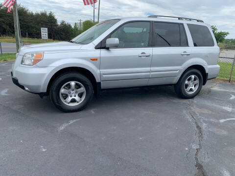 2007 Honda Pilot for sale at Doug White's Auto Wholesale Mart in Newton NC