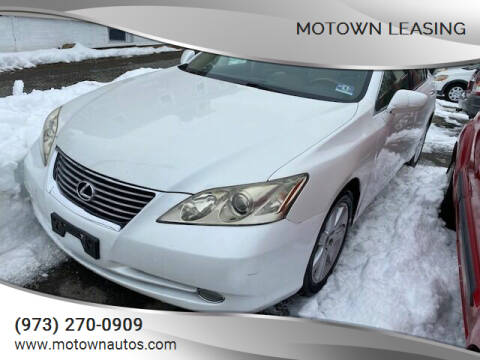2008 Lexus ES 350 for sale at Motown Leasing in Morristown NJ