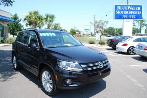 2015 Volkswagen Tiguan for sale at BlueWater MotorSports in Wilmington NC