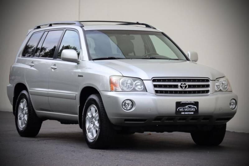 2002 Toyota Highlander for sale at MS Motors in Portland OR