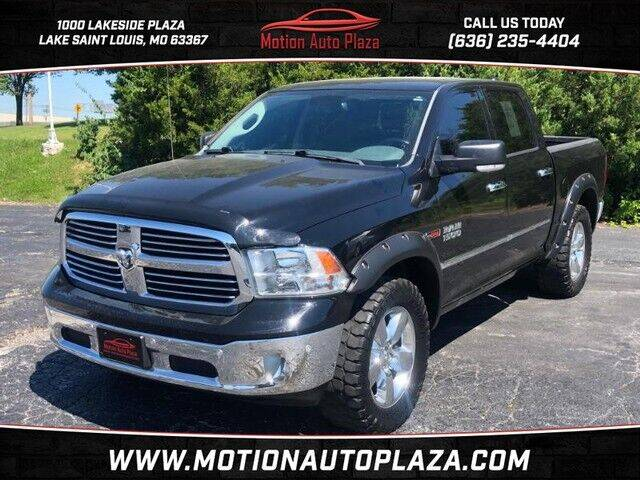 2015 RAM Ram Pickup 1500 for sale at Motion Auto Plaza in Lakeside MO
