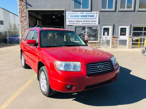 2007 Subaru Forester for sale at The Subie Doctor in Denver CO
