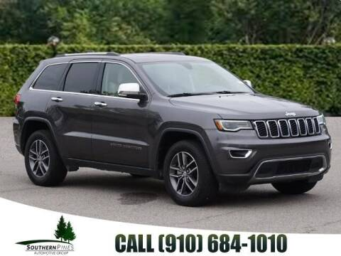 2017 Jeep Grand Cherokee for sale at PHIL SMITH AUTOMOTIVE GROUP - Pinehurst Nissan Kia in Southern Pines NC