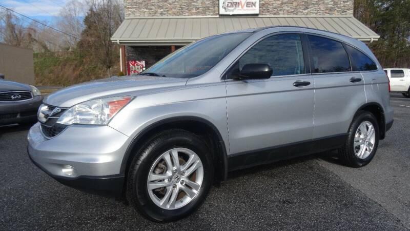 2010 Honda CR-V for sale at Driven Pre-Owned in Lenoir NC