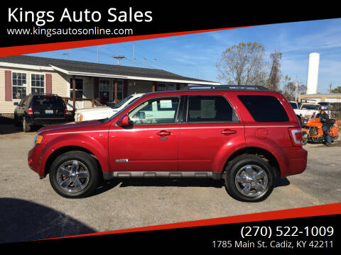 2008 Ford Escape for sale at Kings Auto Sales in Cadiz KY