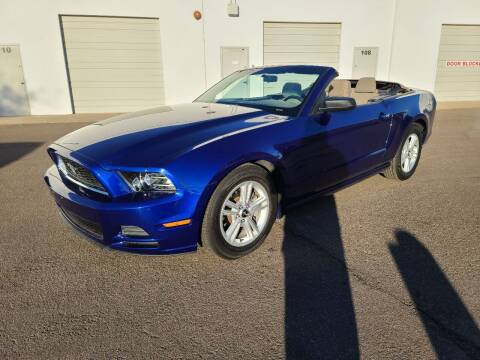 2013 Ford Mustang for sale at NEW UNION FLEET SERVICES LLC in Goodyear AZ