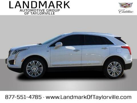 2017 Cadillac XT5 for sale at LANDMARK OF TAYLORVILLE in Taylorville IL