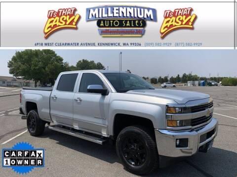 2015 Chevrolet Silverado 2500HD for sale at Millennium Auto Sales in Kennewick WA