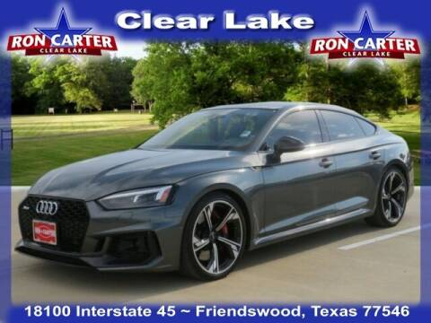 2019 Audi RS 5 Sportback for sale at Ron Carter  Clear Lake Used Cars in Houston TX