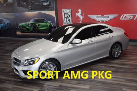 2015 Mercedes-Benz C-Class for sale at Icon Exotics in Houston TX