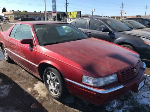 1999 Cadillac Eldorado for sale at BARNES AUTO SALES in Mandan ND
