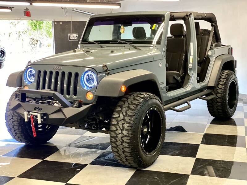 2014 Jeep Wrangler Unlimited for sale at South Florida Jeeps in Fort Lauderdale FL