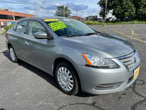2014 Nissan Sentra for sale at Fields Corner Auto Sales in Boston MA